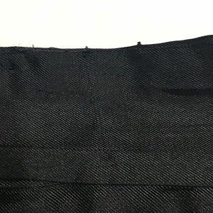 Liquid Skirts - Black & Orange Silk Color Splash Pencil [SK-61]